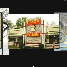 Pizza King in Longview, Tx...the best pizza you will have