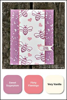 The Pun Intended Host Set by Stampin' Up!® is sure to make you chuckle and smile. Spread that cheer using this set to make a wonderfully punny card. Visit bzbstamper.com for directions on how to make this card!