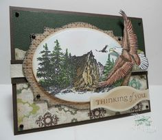 ODBDSLC158 Masculine or Father's Day - Stamps Our Daily Bread Designs On Eagle's Wings, Keep Climbing