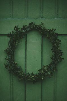 green.quenalbertini: Wreath
