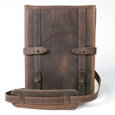 Leather iPad case. Probably need an iPad first.