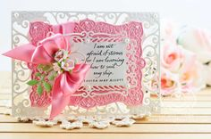 Card Making Ideas by Becca Feeken using Spellbinders Exquisite Labels Eleven #amazingpapergrace.com