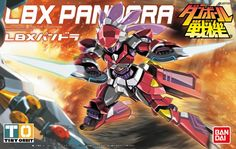 79.48$  Buy now - http://alimre.worldwells.pw/go.php?t=32633693871 - Bandai Danball Senki Plastic Model WARS LBX PANDORA  Scale Model wholesale Model Building Kits freeshipping lbx toys