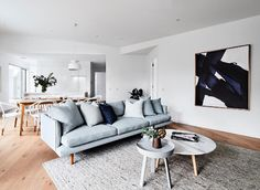 Home Decor Inspiration: The Power of Art (Nordic Design) My Living Room, Home And Living, Living Spaces, Casual Family Rooms, Interior Styling, Interior Design, Brighton, Lounge Areas, Home Builders