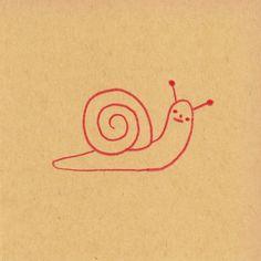 Just a snail (Hiller Goodspeed).