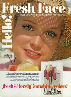 The World's Best Photos of maybelline and vintage Vintage Makeup Ads, Vintage Beauty, Vintage Ads, Retro Ads, Vintage Vanity, Vintage Perfume, Vintage Advertisements, Makeup For Moms, Love Makeup