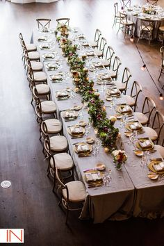 Aimee's garland and succulent head table, IN Photography, High Lonesome at Devil's Thumb Ranch