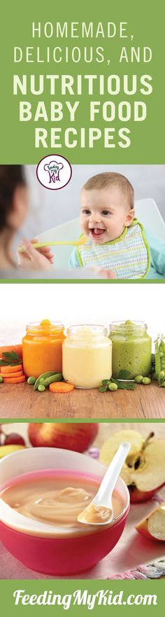 Try these amazing baby food recipes your baby will love! Easy, nutritious, and all made right at home. Forget the preservative laden stuff!