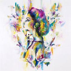 Katy Jade Dobson is a UK based oil painter from Yorkshire. Katy Jade Dobson uses a number of mediums to paint her amazing pieces. Artist Art, Artist At Work, Art Uk, Futurism, Wildlife Art, Art Tutorials, Art Inspo, Amazing Art, Watercolor Art