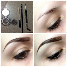 Airica Michelle Liked · 27 April   1. Eyebrow powder (you can use eyeshadow instead too), gel eyeliner, concealer pencil, small angeled brush, and grooming brush 2. Bare eyebrow 3. Using the small angeled brush and gel eyeliner, draw and fill eyebrow, then add brow powder 4. Line the bottom with concealer to make brow sharper