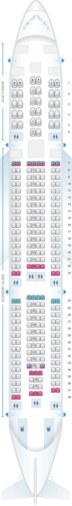 Top 10 Punto Medio Noticias Airbus A340 300 Seating Chart Tap