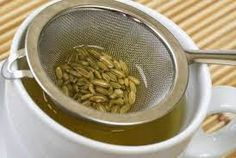 Os Meus Remédios Caseiros: Chá das 4 sementes contra a barriga inchada
