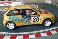 Seat Ibiza Kit Car de Scalextric, um coche divertido de conducir.