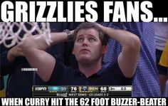 Grizzlies fans REACT to Steph Curry's 62-Foot SHOT! #Warriors - http://nbafunnymeme.com/nba-memes/grizzlies-fans-react-to-steph-currys-62-foot-shot-warriors
