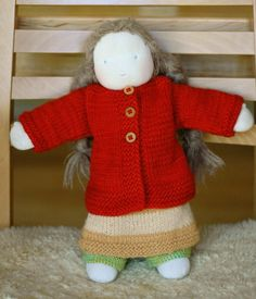 Knitting for your doll - hand made, home made Christmas | little jenny wren ..... ♥ ♥ ♥ ..... life and dolls
