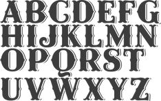 MyFonts: Western typefaces Type design information compiled and maintained by Luc Devroye. Tattoo Lettering Styles, Lettering Design, Western Logo, Western Fonts, Country Fonts, Love Coloring Pages, Handwriting Fonts, Penmanship, Estilo Country