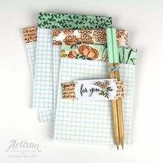 Office stationery set using the Make a Difference stamp set and Share What You Love promotion - Charlet Mallett, Stampin' Up! Artisan Design Team 2018