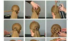DIY -Stylish Hairstyle