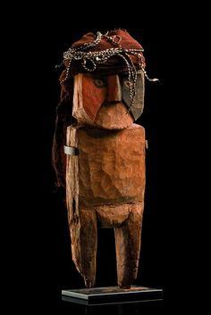 Standing figure - Peru, Chancay  ca. 1200 - 1400 A.D.