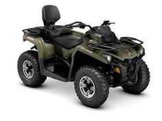 New 2016 Can-Am Outlander L Max DPS 450 ATVs For Sale in Tennessee. Raise your expectations, not your price range. Get the all-terrain performance you'd expect from Can-Am at the most accessible price ever. A more comfortable two-up riding experience that simply and quickly converts to a one-up. With the added comfort of Tri-Mode Dynamic Power Steering (DPS).
