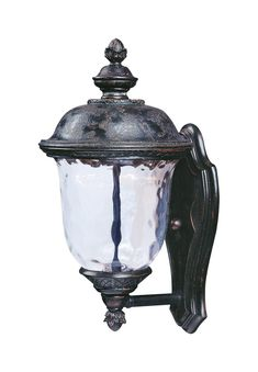 Maxim Lighting 55422WGOB Carriage House LED LED 16 inch Oriental Bronze Outdoor Wall Mount