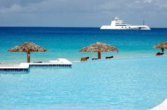 Anguilla....stopped on island for one day about ten years ago.  Beautiful place.
