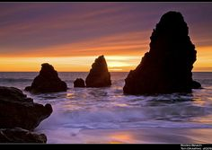 Rodeo Beach Sunset by Tom DiMatteo
