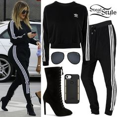 Khloe Kardashian Clothes Outfits Steal Her Style Style Khloe Kardashian, Koko Kardashian, Estilo Kardashian, Robert Kardashian, Kardashian Kollection, Kardashian Clothing, Kardashian Fashion, Style Outfits, Sporty Outfits