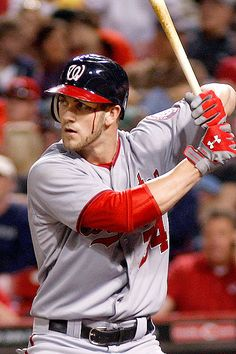 bryce harper with blood dripping down his face..no big deal.