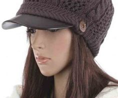 pure color, knit design, strap with button decor, top ball detail. spenditonthis.com