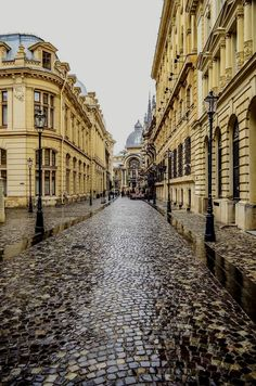 Stavropoleos Street, Bucharest Old town , Romania. Walking through the city, you will understand why Bucharest used to be called Little Paris.  Romania Travel  Acceda al sitio para obtener información   http://storelatina.com/romania/travelling #ルーマニア #루마니아 #Rumunia #Rumani  Romania Travel  Accéder au site pour information   https://storelatina.com/romania/travelling