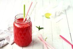 Sans Gluten Vegan, Jus Detox, Cocktails, Vegetables, Food, Fruit, Cucumber Juice, Strawberry Juice, Mint Green