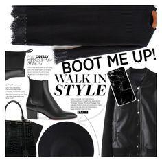 """Kick It: Chelsea Boots"" by vanjazivadinovic ❤ liked on Polyvore featuring Christian Louboutin, Fendi, polyvoreeditorial and zaful"