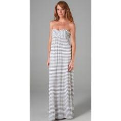 striped bridesmaid