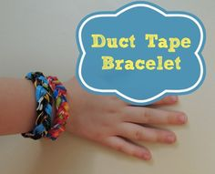 How to Make a Duct Tape Bracelet - Bedtime Math