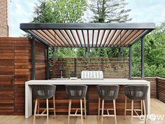 Outdoor Kitchen Patio, Outdoor Oven, Outdoor Cooking, Outdoor Bars, Outdoor Grill Area, Outdoor Living, Covered Outdoor Kitchens, Modern Outdoor Kitchen, Modern Outdoor Grills