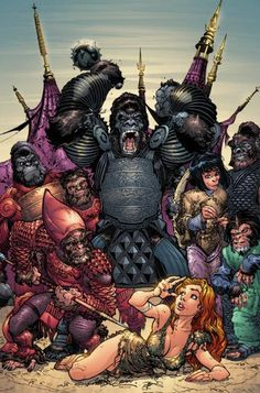 Planet of the Apes by J. Scott Campbell