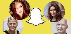 Politik på Snapchat