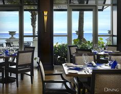 Cobalt Restaurant at the Vero Beach Hotel and Spa.