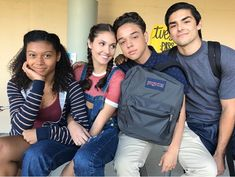 Paradise on set with you all Everyone go watch onmyblocktv streaming now on netflix ericneilgutz Series Movies, Movies And Tv Shows, Tv Series, Netflix Tv Shows, Bae, Cute Disney, Herschel Heritage Backpack, Best Shows Ever, On Set