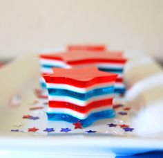 365 Days of Baking: 4th of July Jell-O Stars