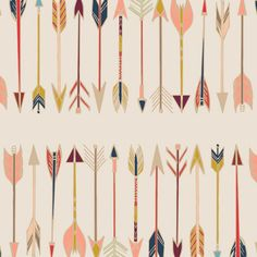 Fletching Chant, Wild and Free, Art Gallery Fabric by the YARD, Arrow Fabric, Modern Fabric, Quilting Fabric, La Petite Fabric Shop by LaPetiteFabricShop on Etsy