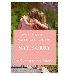 "I've seen it time and time again, and I'm sure you have too… A child darts past another child, knocking over their block structure, yelling an un-empathetic ""Sorry!"" over their shoulder as they run off to continue their play. Young children are being taught to say ""sorry"" long before they are actually developmentally capable of …"