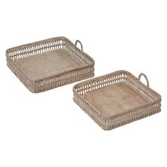 Renew your vignettes with natural, earthy charm with the bamboo construction of the Woven Tray (Set of from Amalfi. Kids Decor, Decor Ideas, Home Decor, Bamboo Construction, Amalfi, Tray, Dining, Australia, Kitchen