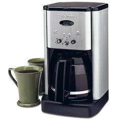 Personal Edge : Cuisinart DCC-1200C 12-cup coffee maker Brew Central