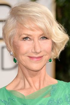 Helen Mirren at the 2014 Golden Globe Awards: http://beautyeditor.ca/2014/01/12/golden-globes-2014/