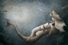 "Artworks by Luis Gabriel Pacheco  ""The Little Mermaid."""