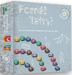 neuvedený: Poznáš Tatry? Spoločenská hra I Love Games, Puzzle, Puzzles, Puzzle Games, Riddles