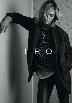 Karmen Pedaru Exudes Rock & Roll Cool for IROs Fall 2014 Campaign