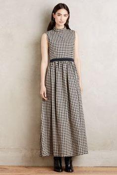 Megan Swansen Billie Mockneck Maxi Dress #anthrofave